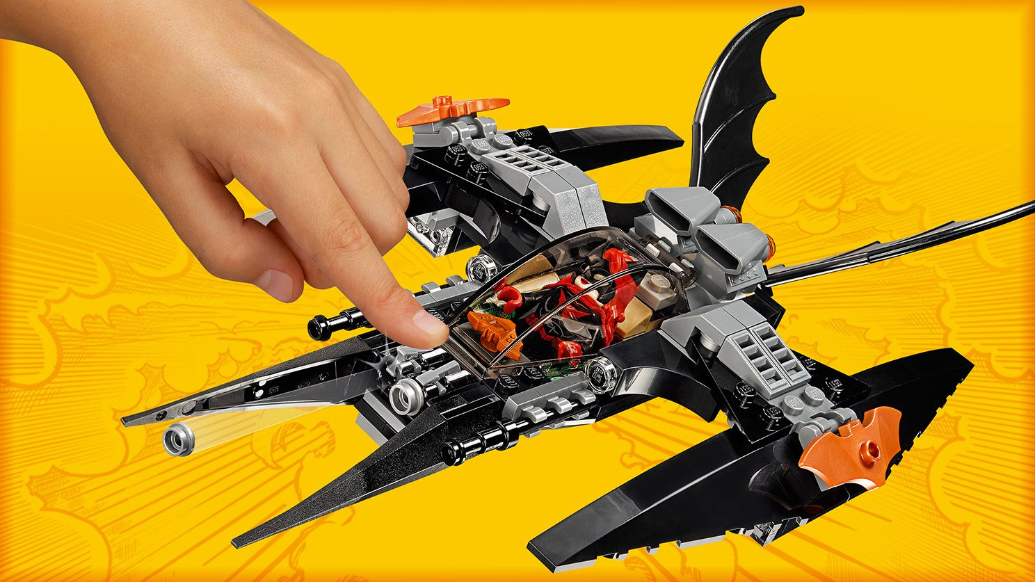 LEGO DC Comics™ Super Heroes 76111 Batman™: pojedynek z Brother Eye™