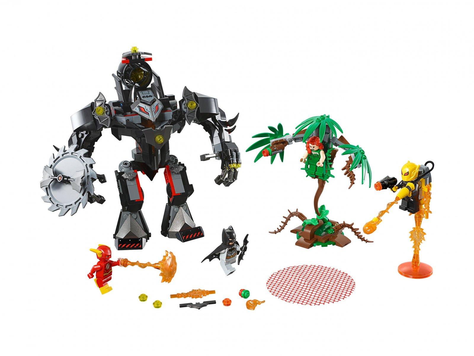 LEGO DC Comics™ Super Heroes Mech Batmana™ kontra mech Trującego Bluszcza™ 76117
