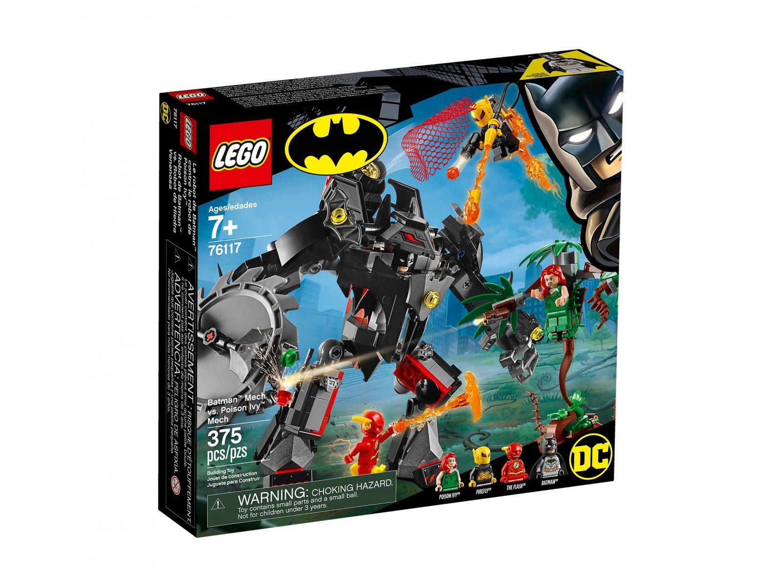 LEGO 76117 Mech Batmana™ kontra mech Trującego Bluszcza™