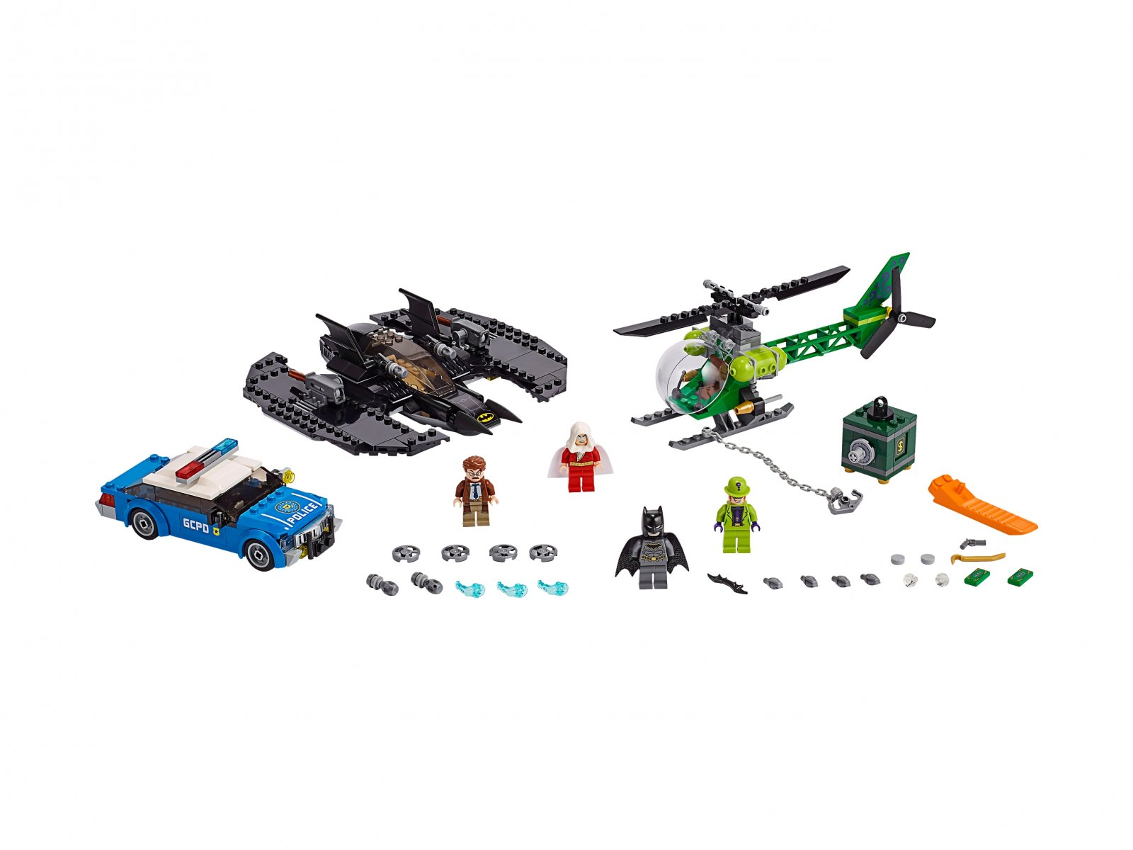 LEGO DC Comics™ Super Heroes Batwing i napad Człowieka-Zagadki™ 76120