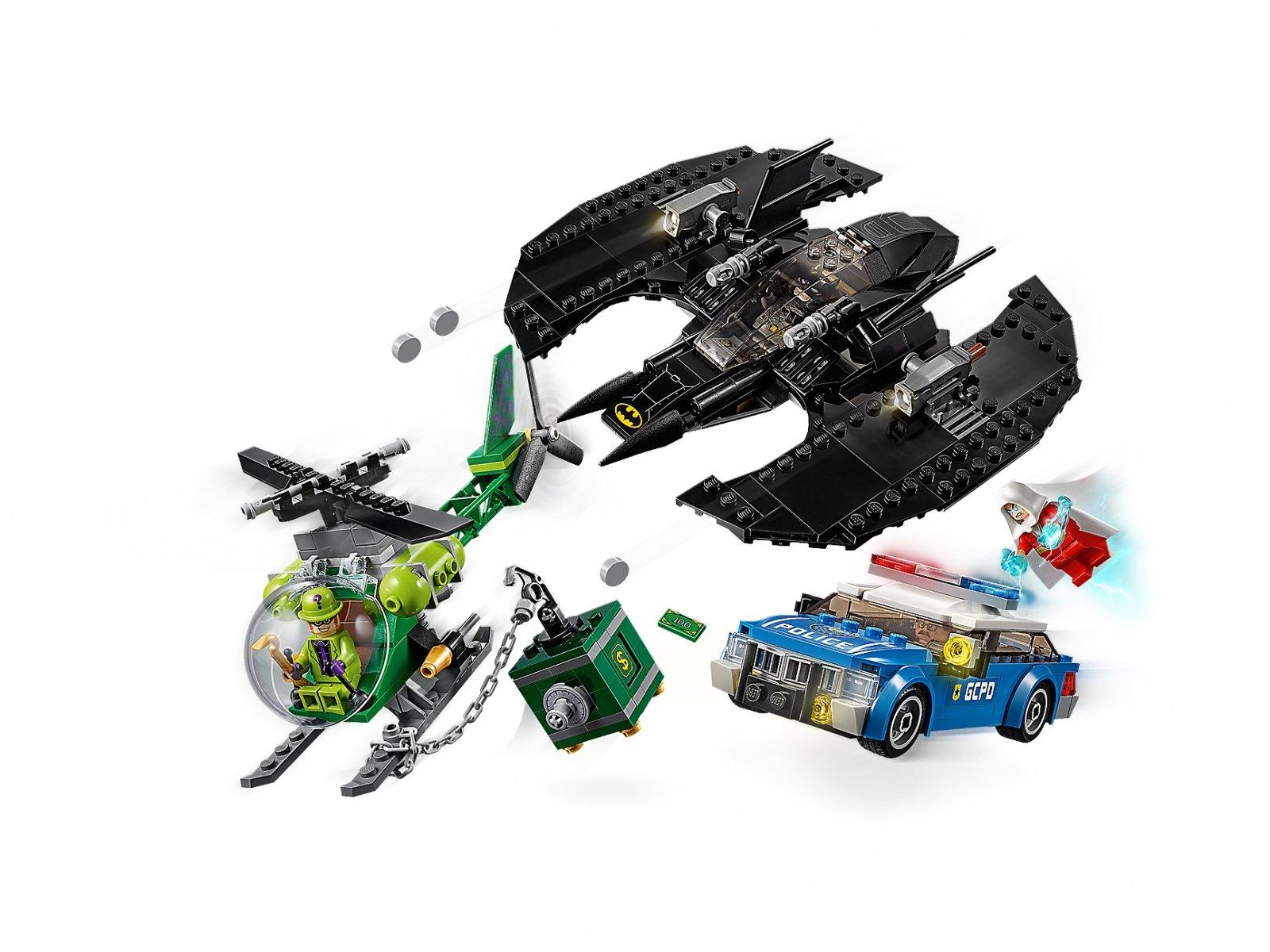 LEGO 76120 Batwing i napad Człowieka-Zagadki™