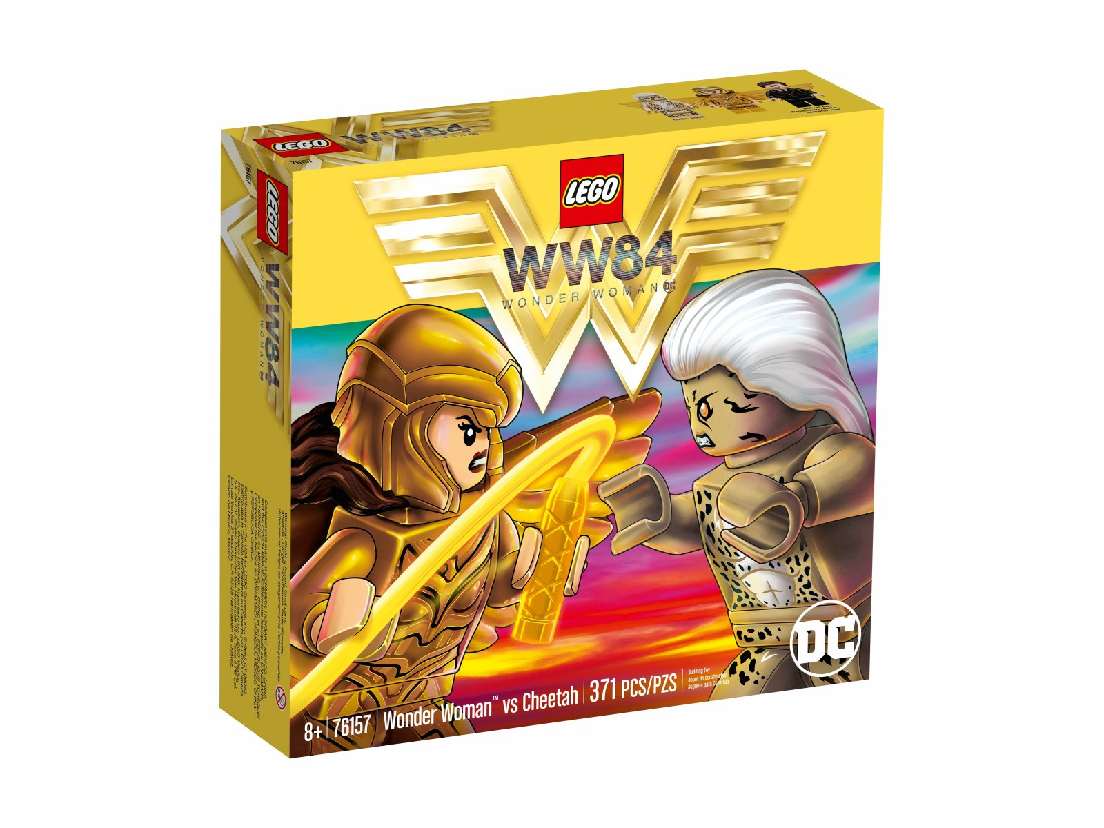 LEGO DC Comics™ Super Heroes Wonder Woman™ vs Cheetah 76157