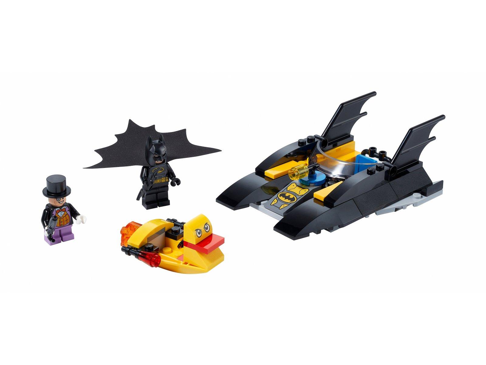 LEGO DC Comics™ Super Heroes Pościg Batłodzią za Pingwinem 76158