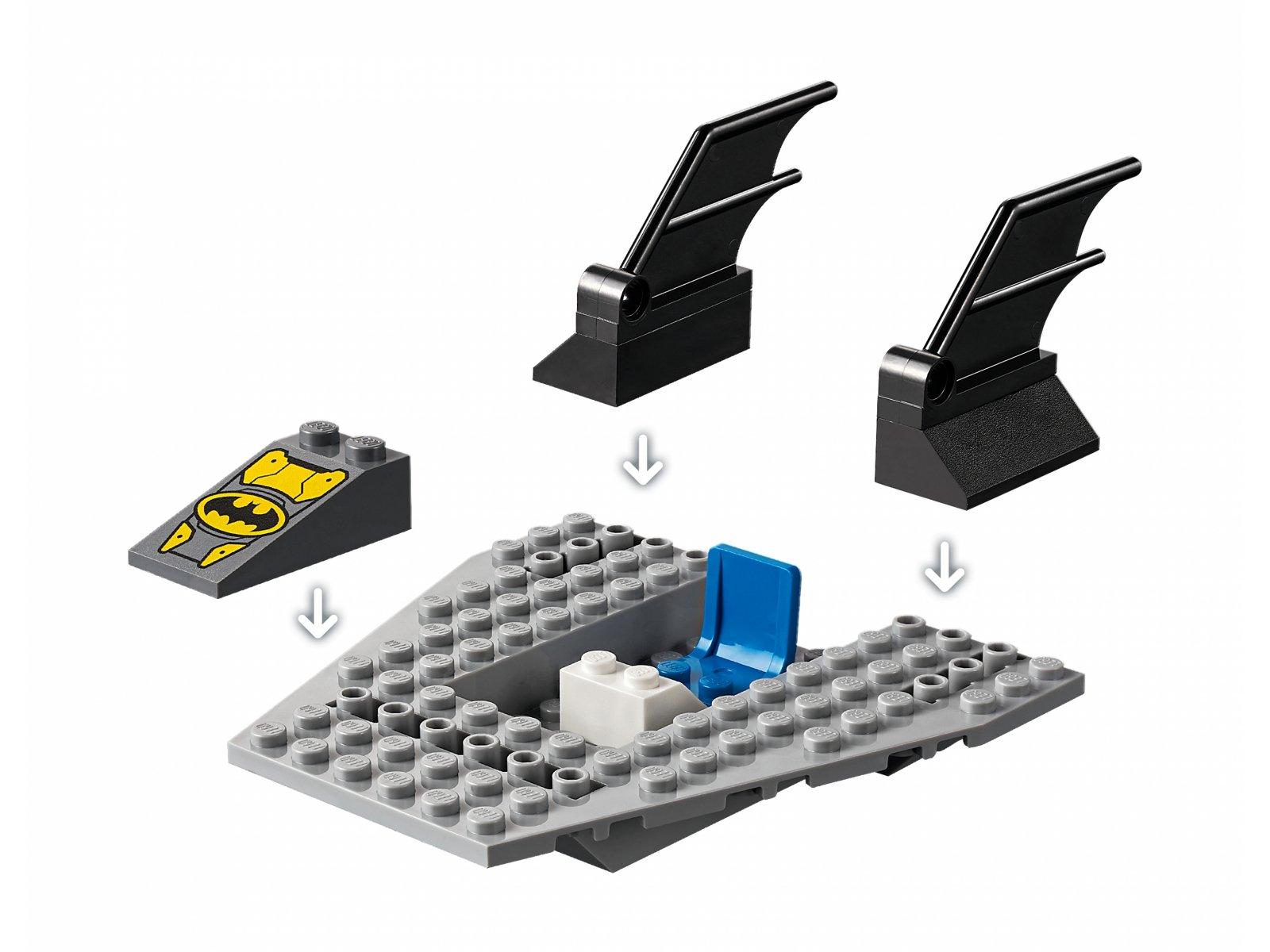 LEGO 76158 DC Comics™ Super Heroes Pościg Batłodzią za Pingwinem