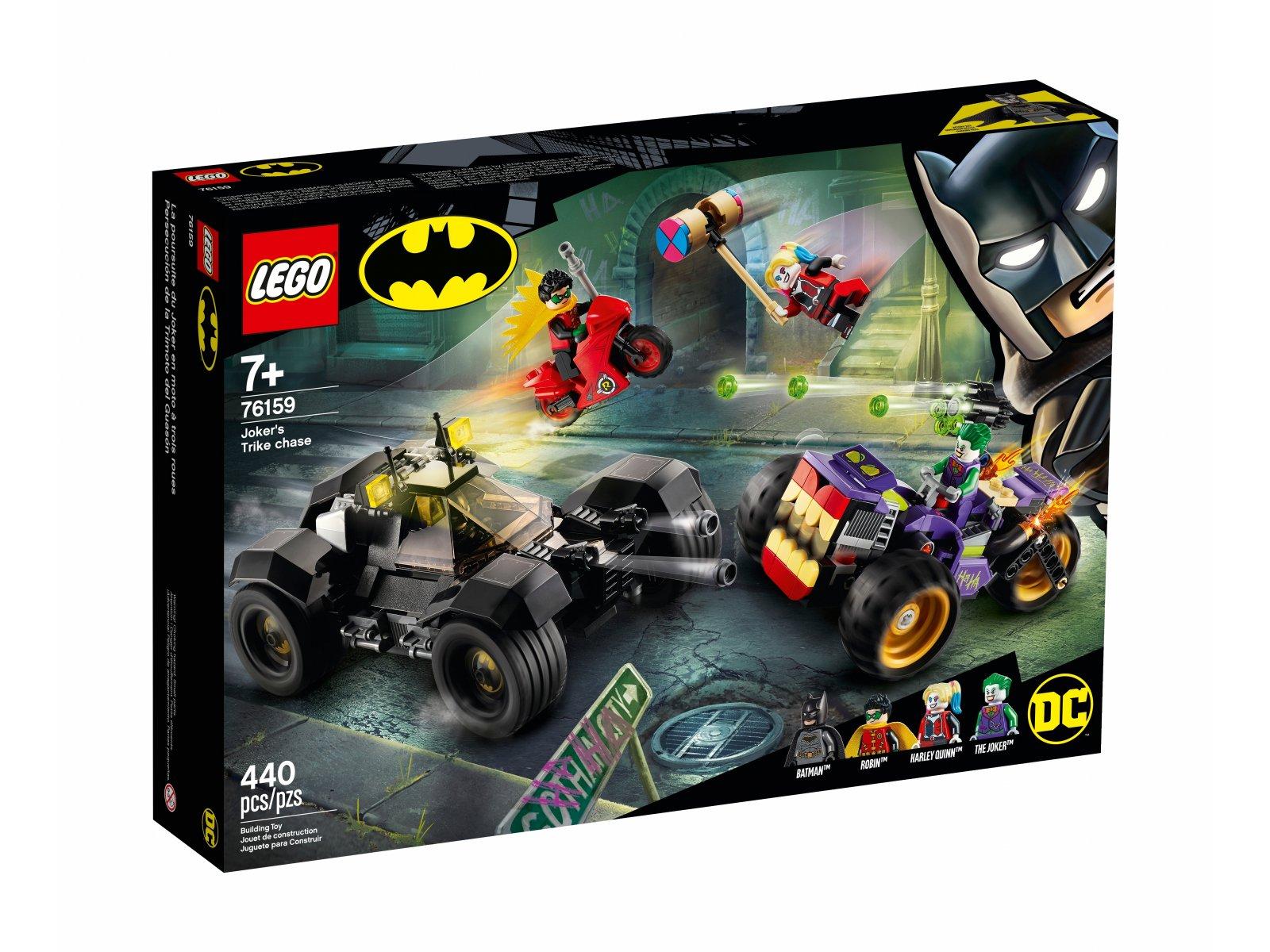 LEGO 76159 Trójkołowy motocykl Jokera