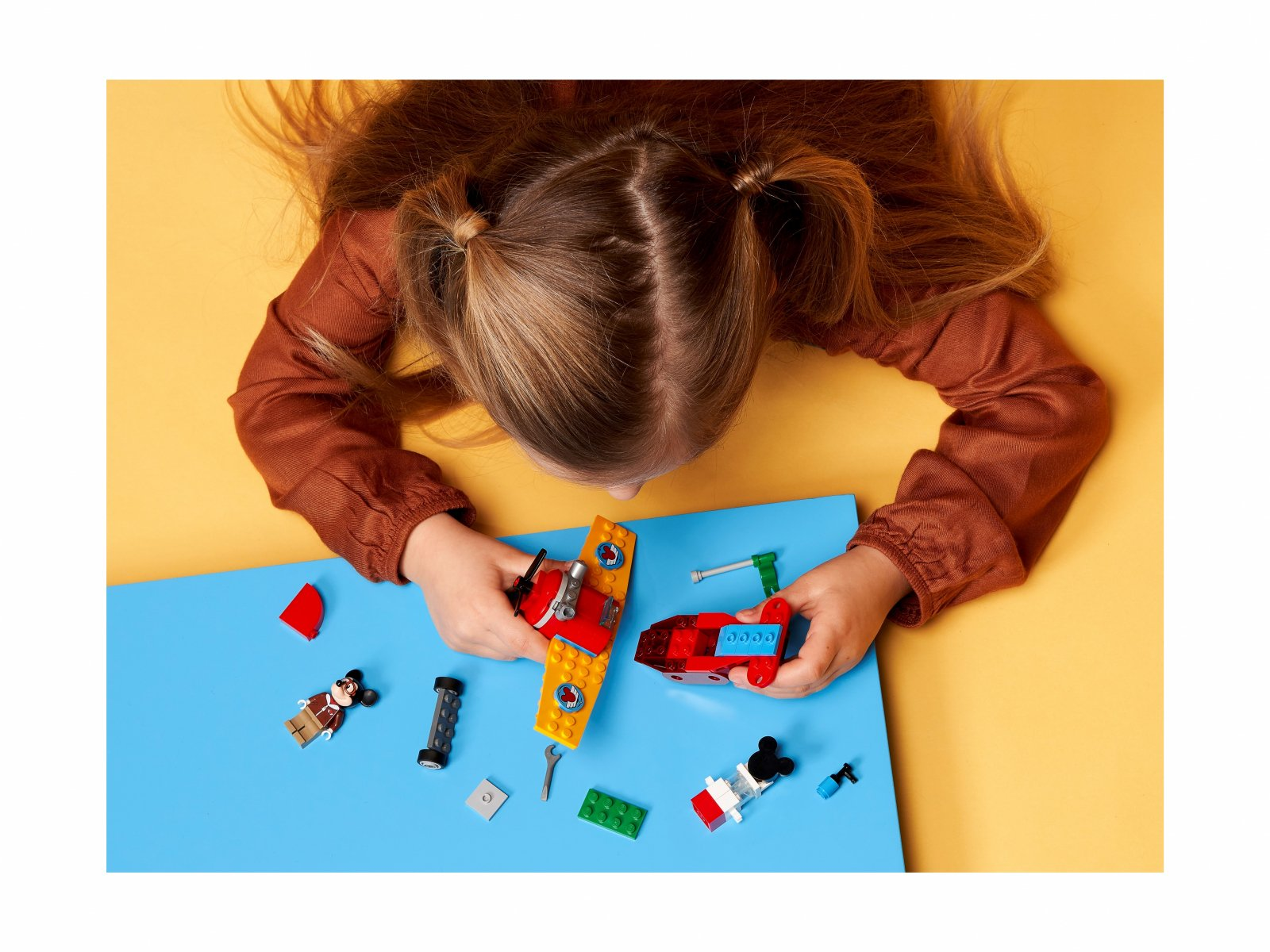 LEGO 10772 Samolot śmigłowy Myszki Miki