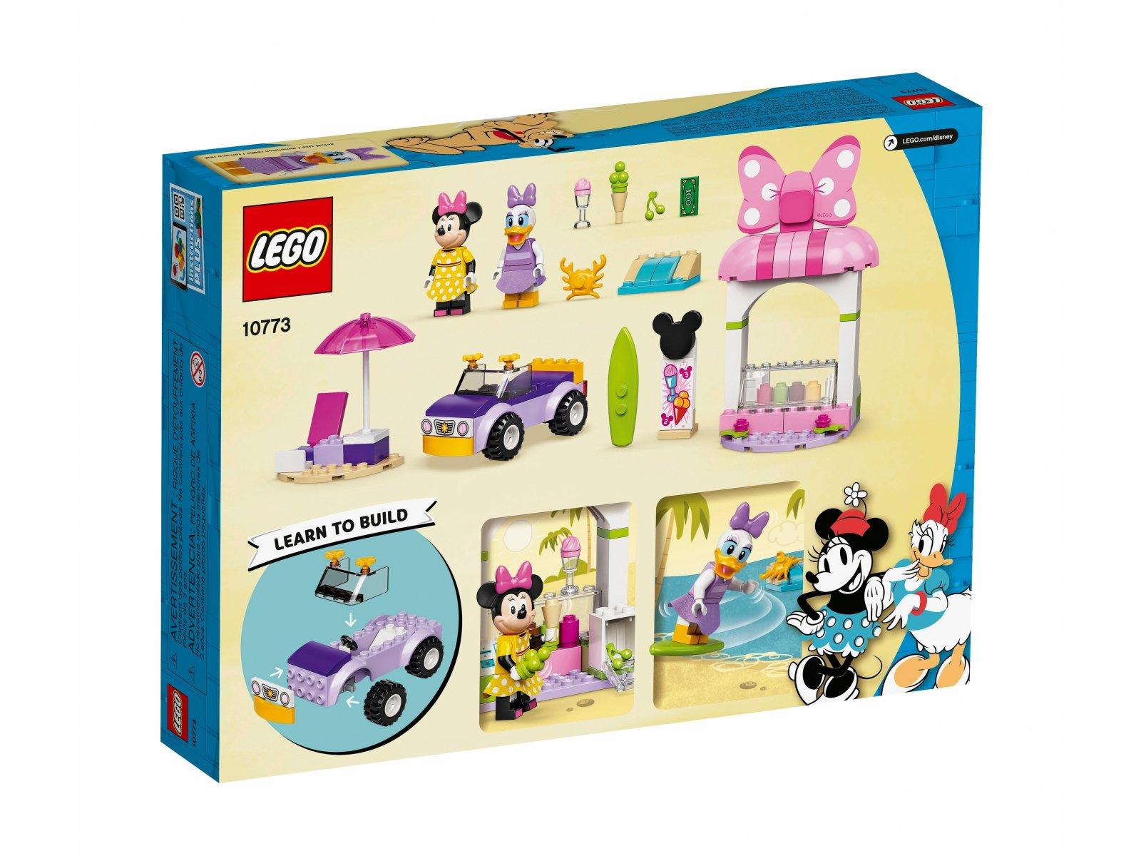 LEGO 10773 Disney Sklep z lodami Myszki Minnie