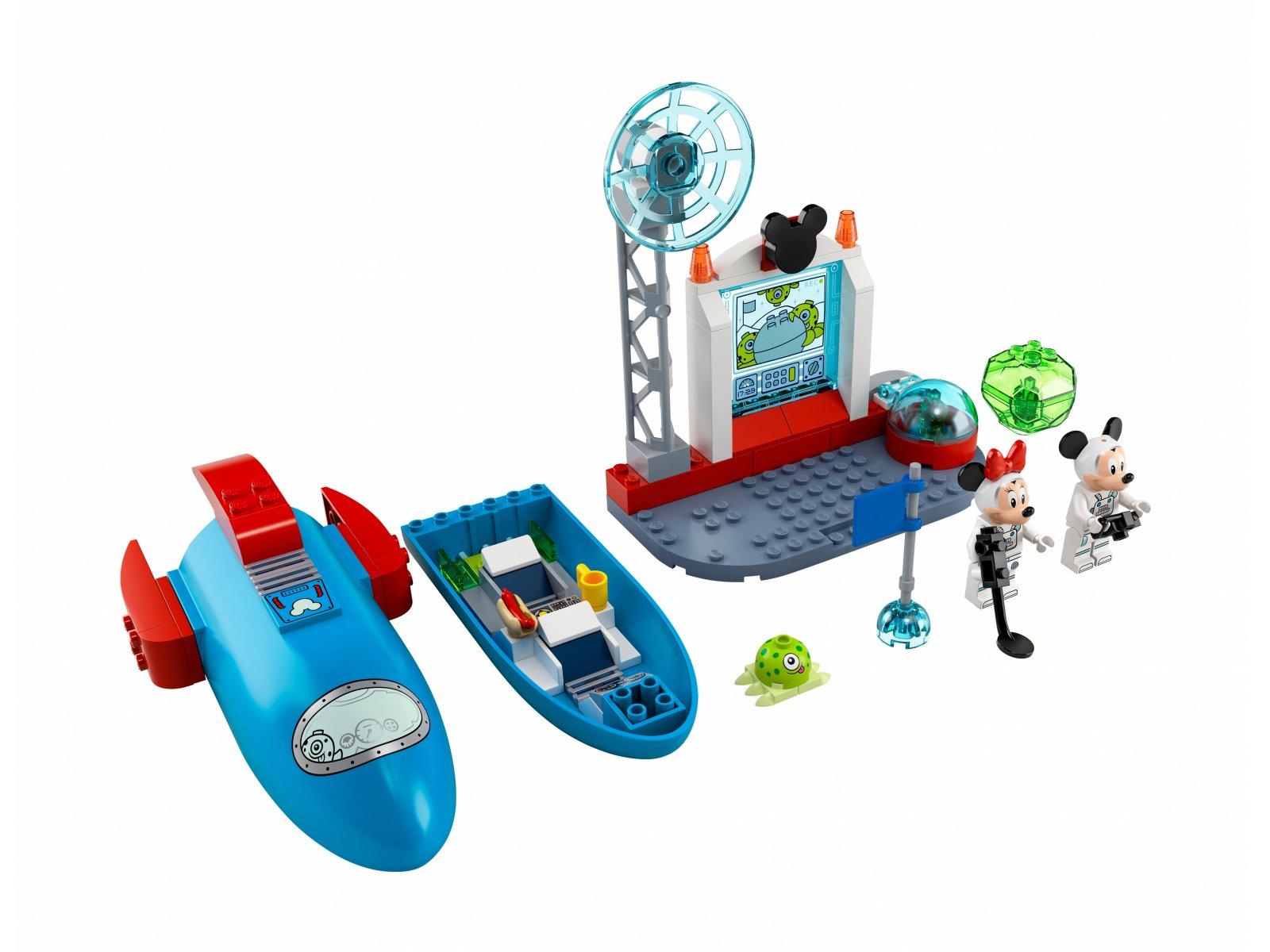 LEGO 10774 Kosmiczna rakieta Myszki Miki i Minnie
