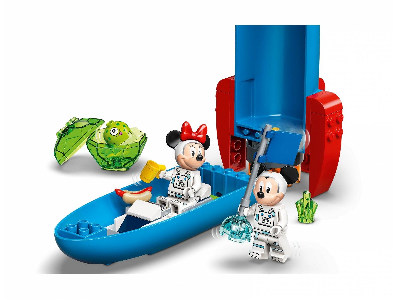 LEGO 10774 Disney Kosmiczna rakieta Myszki Miki i Minnie