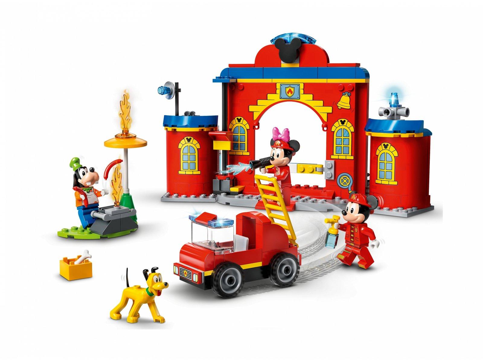LEGO 10776 Disney Remiza i wóz strażacki Myszki Miki i przyjaciół
