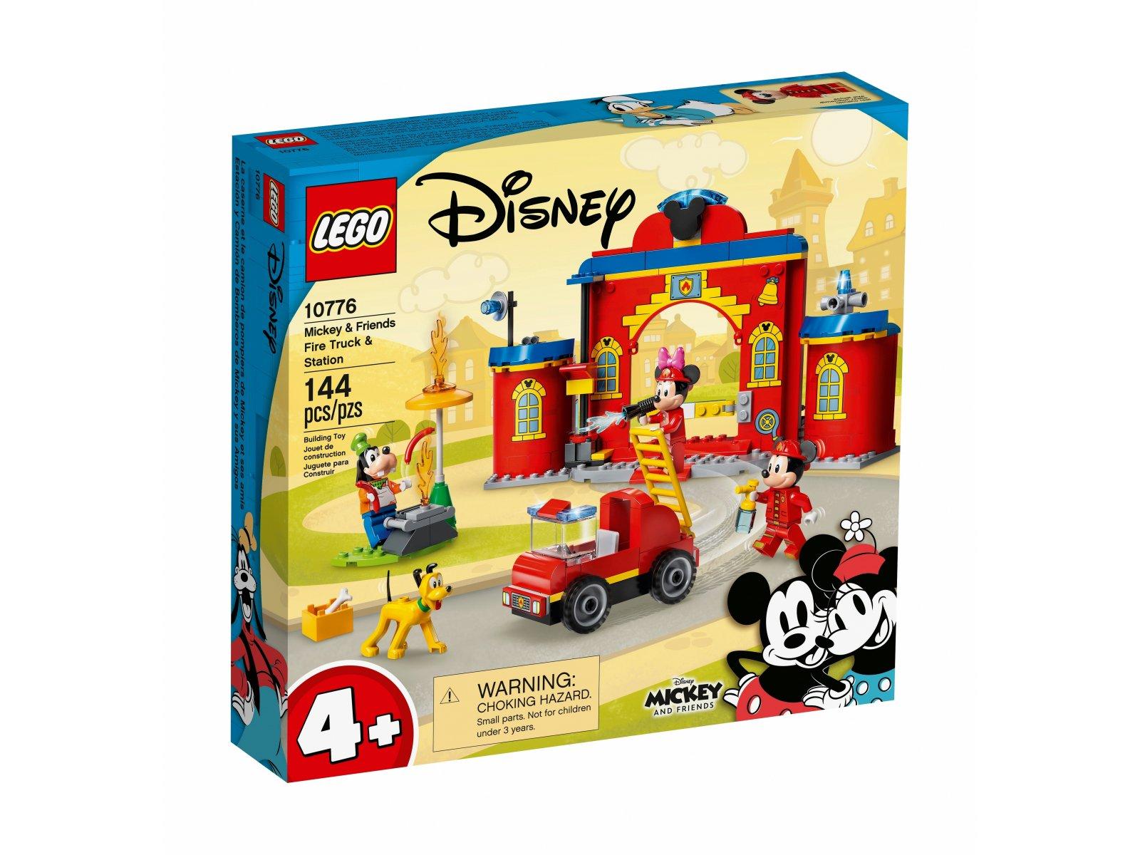 LEGO Disney Remiza i wóz strażacki Myszki Miki i przyjaciół 10776