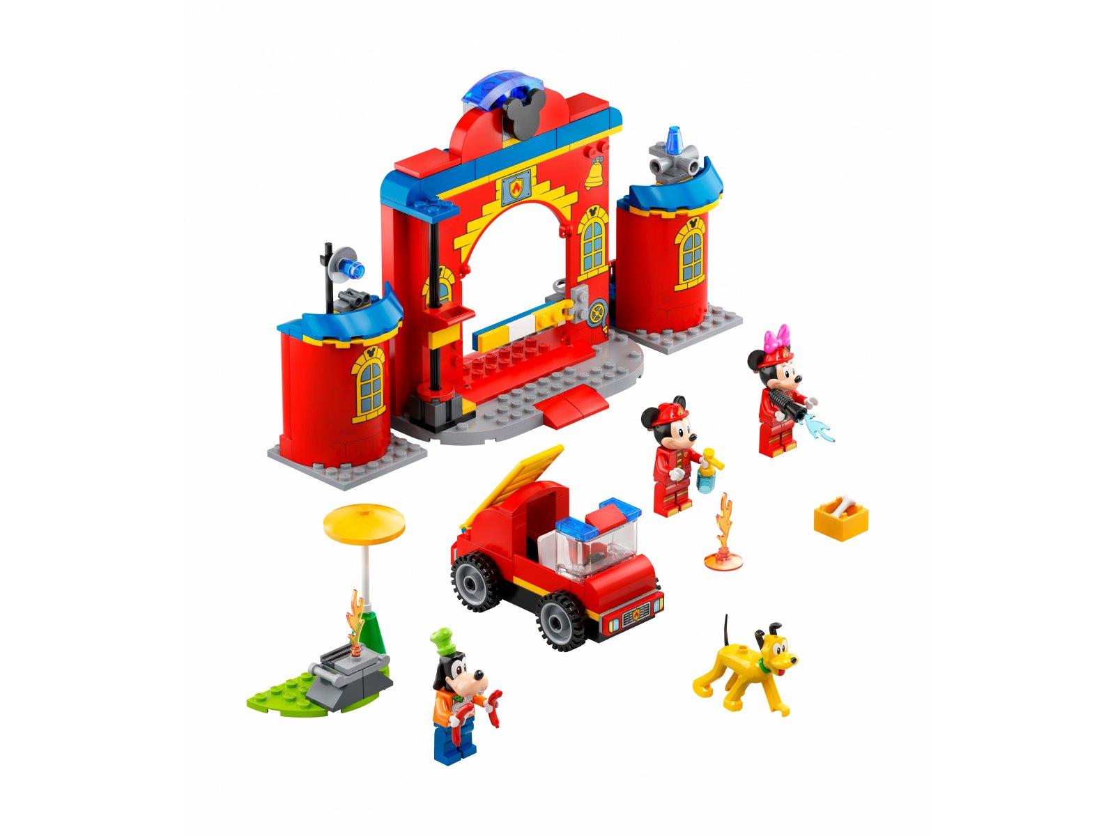 LEGO 10776 Remiza i wóz strażacki Myszki Miki i przyjaciół