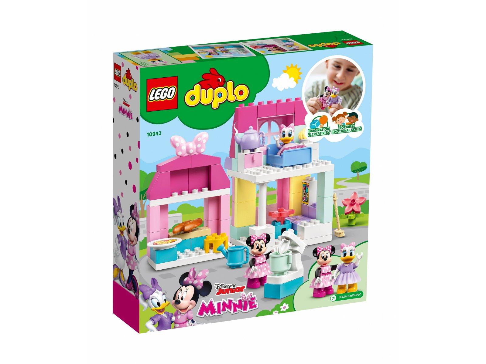 LEGO 10942 Dom i kawiarnia Myszki Minnie