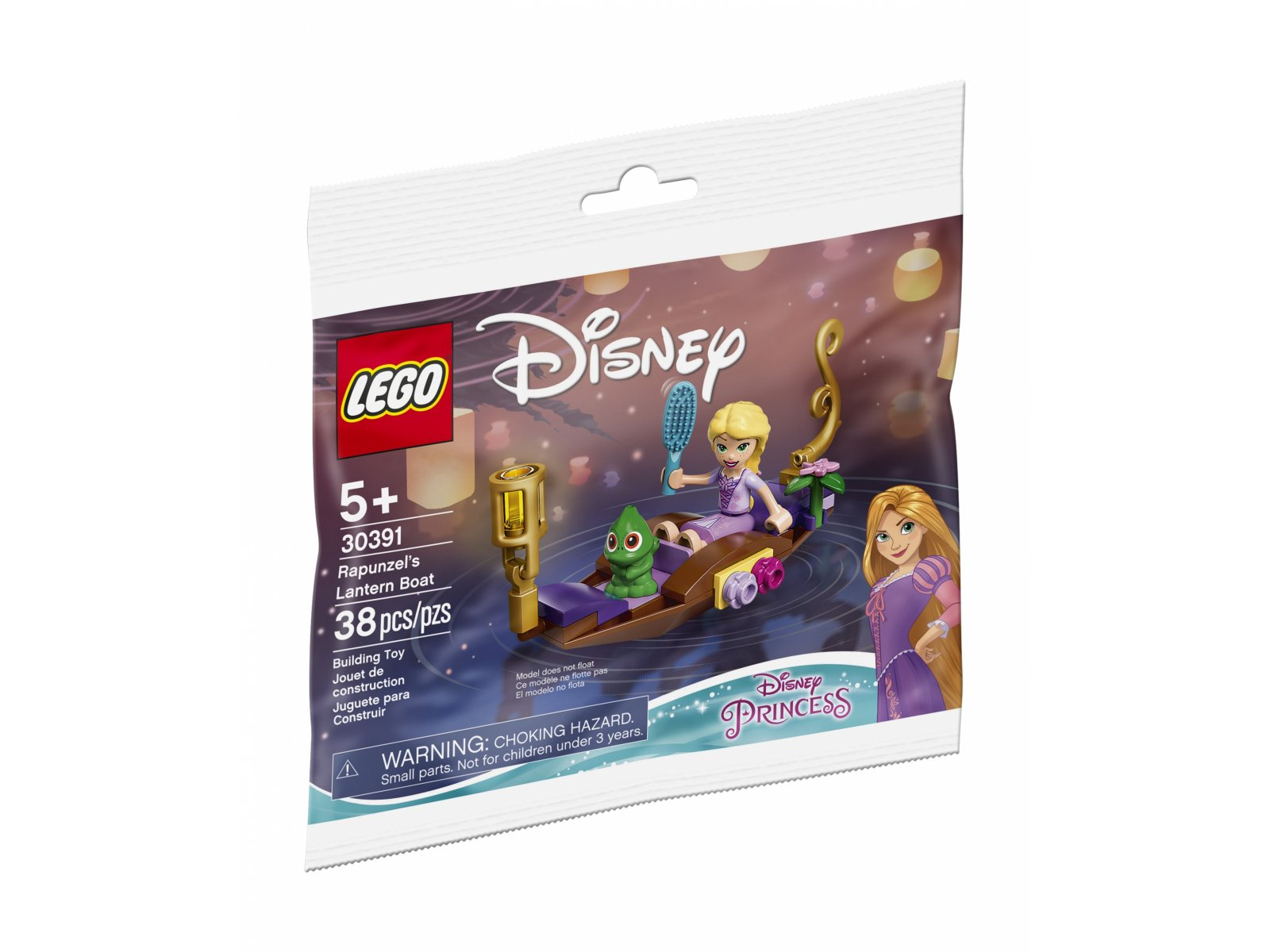 LEGO 30391 Disney Łódka Roszpunki z latarnią