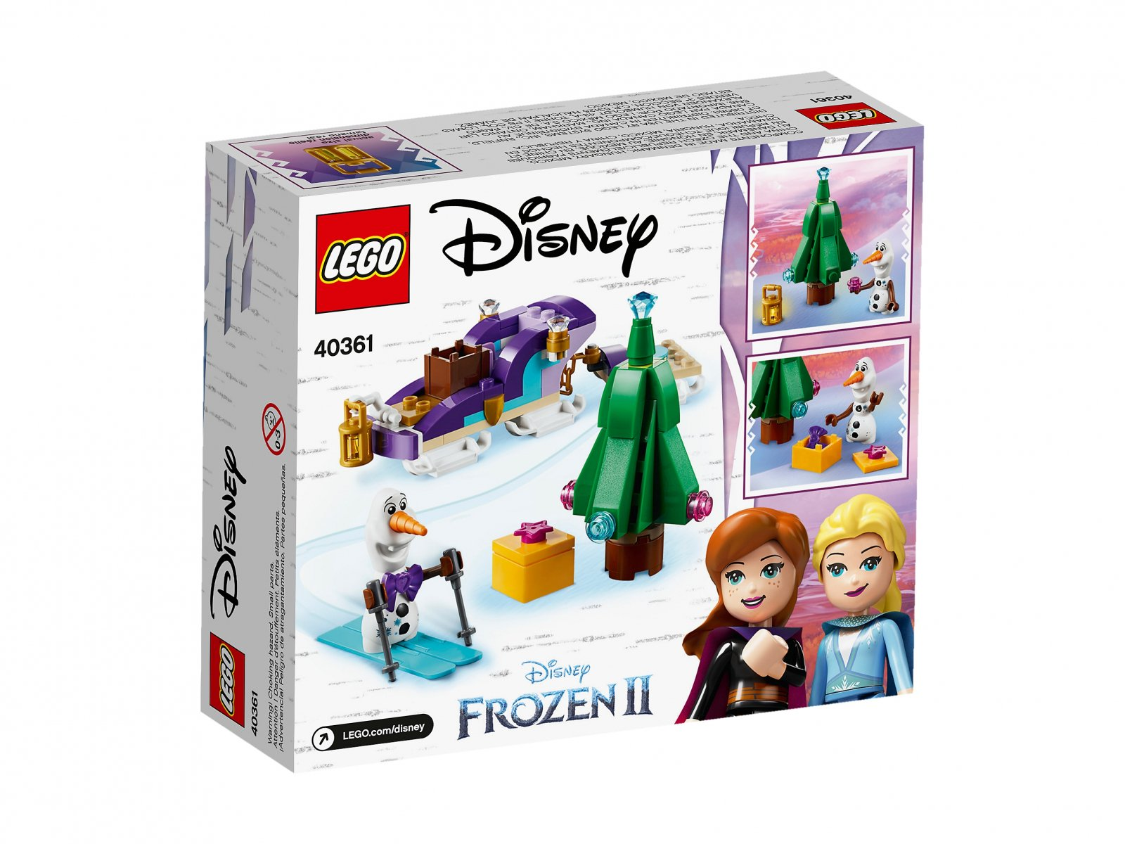 LEGO Disney™ 40361 Sanie Olafa