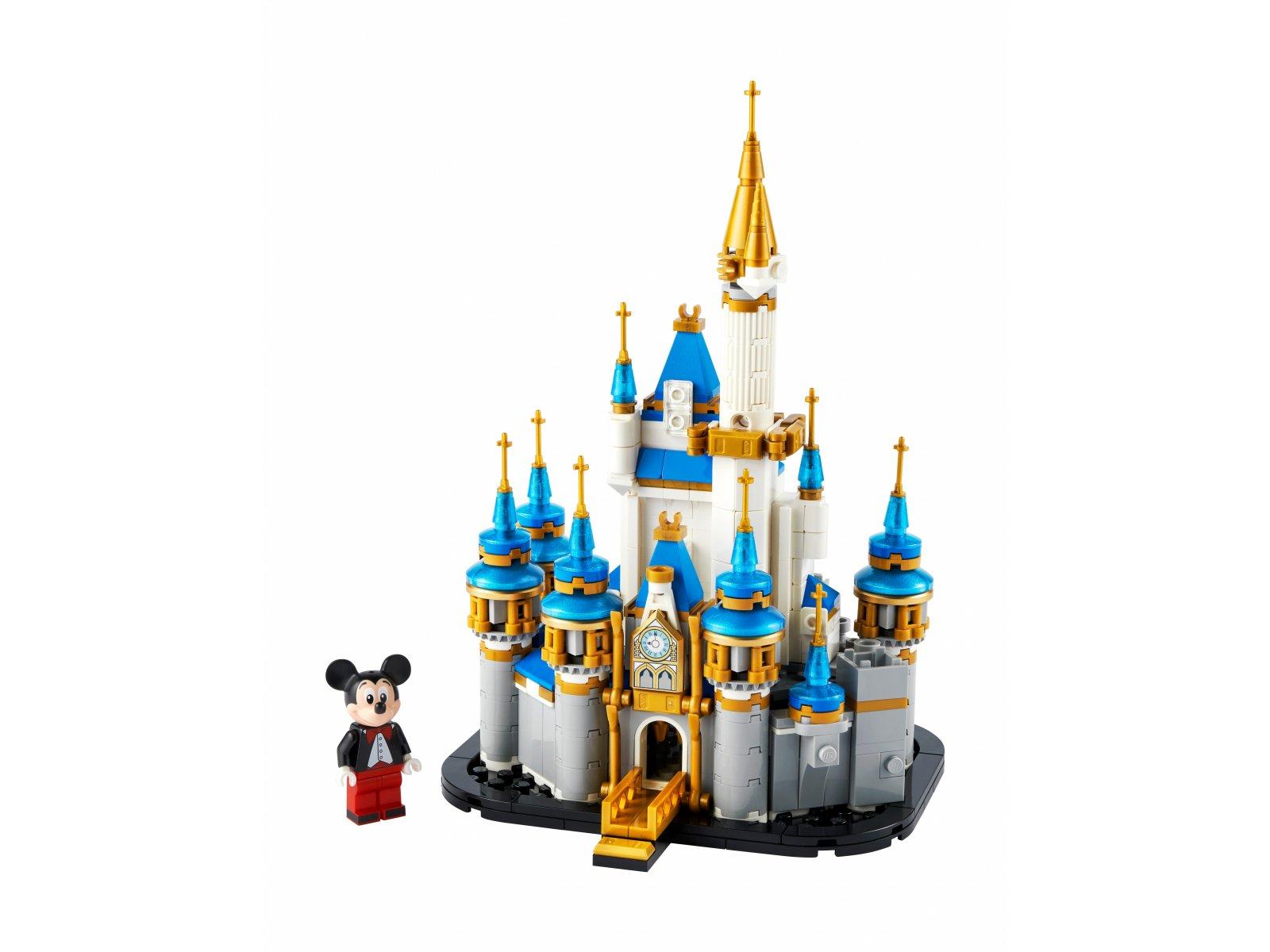 LEGO Disney 40478 Miniaturowy zamek Disneya