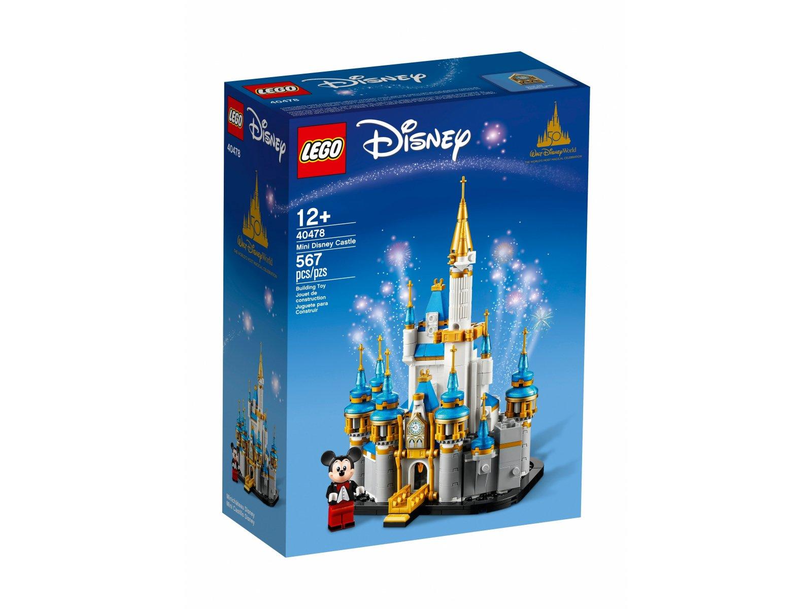 LEGO Disney Miniaturowy zamek Disneya 40478
