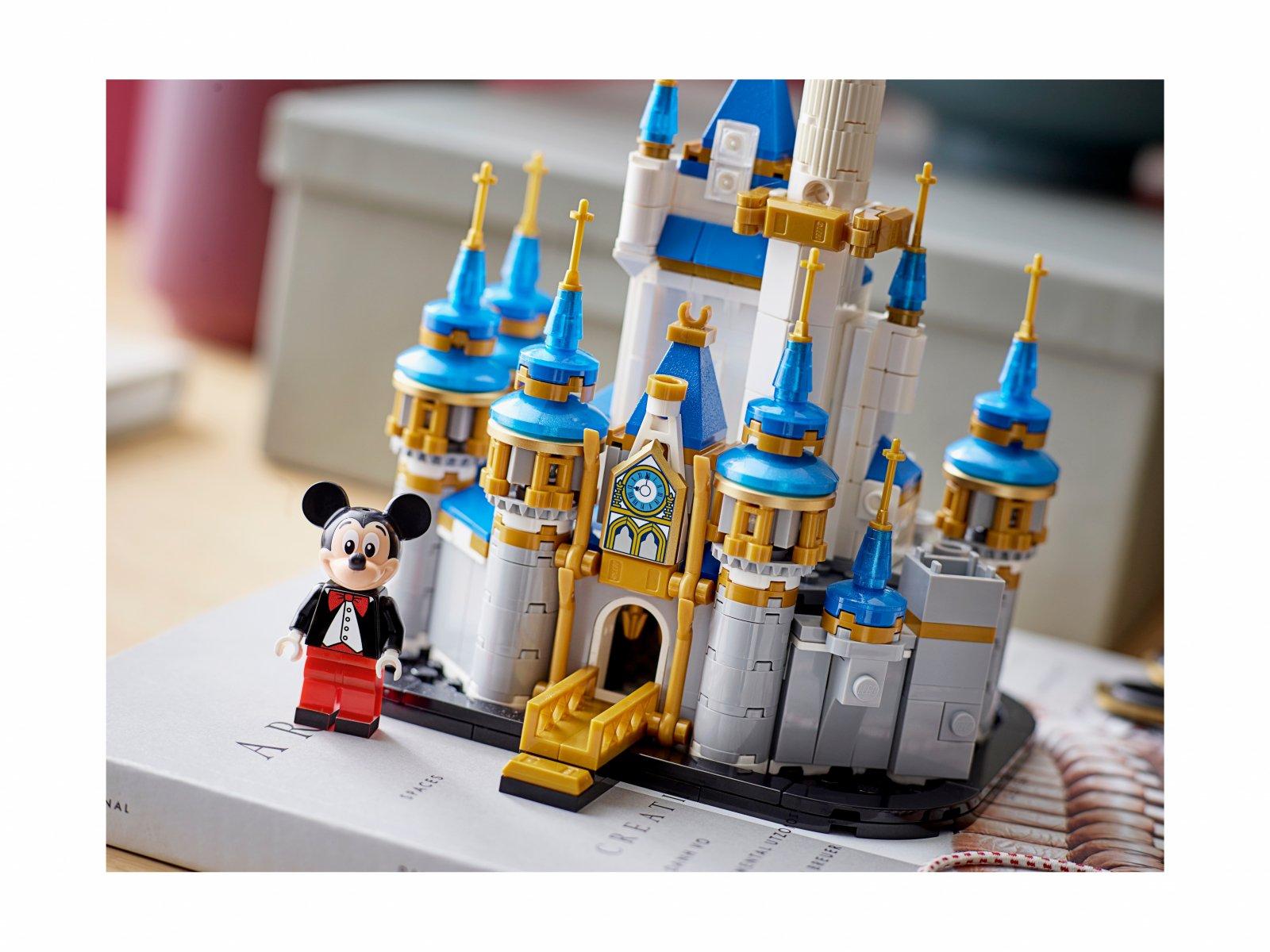 LEGO 40478 Miniaturowy zamek Disneya