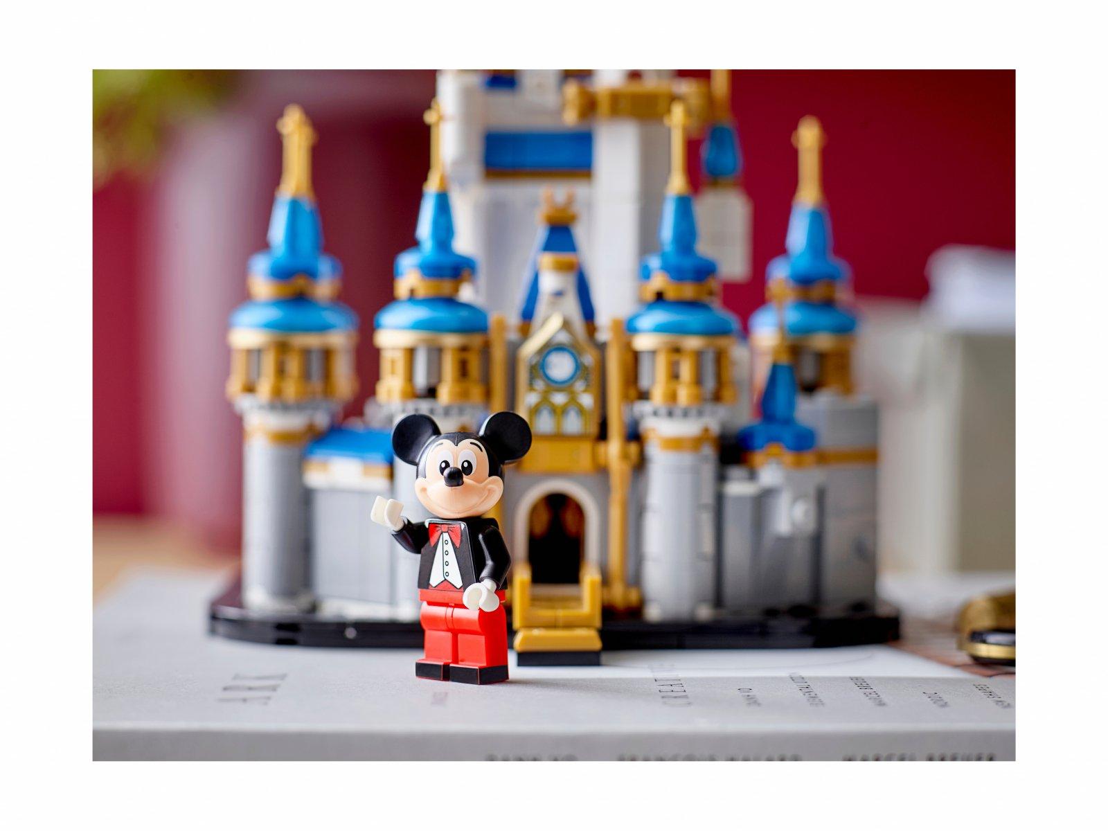 LEGO 40478 Disney Miniaturowy zamek Disneya