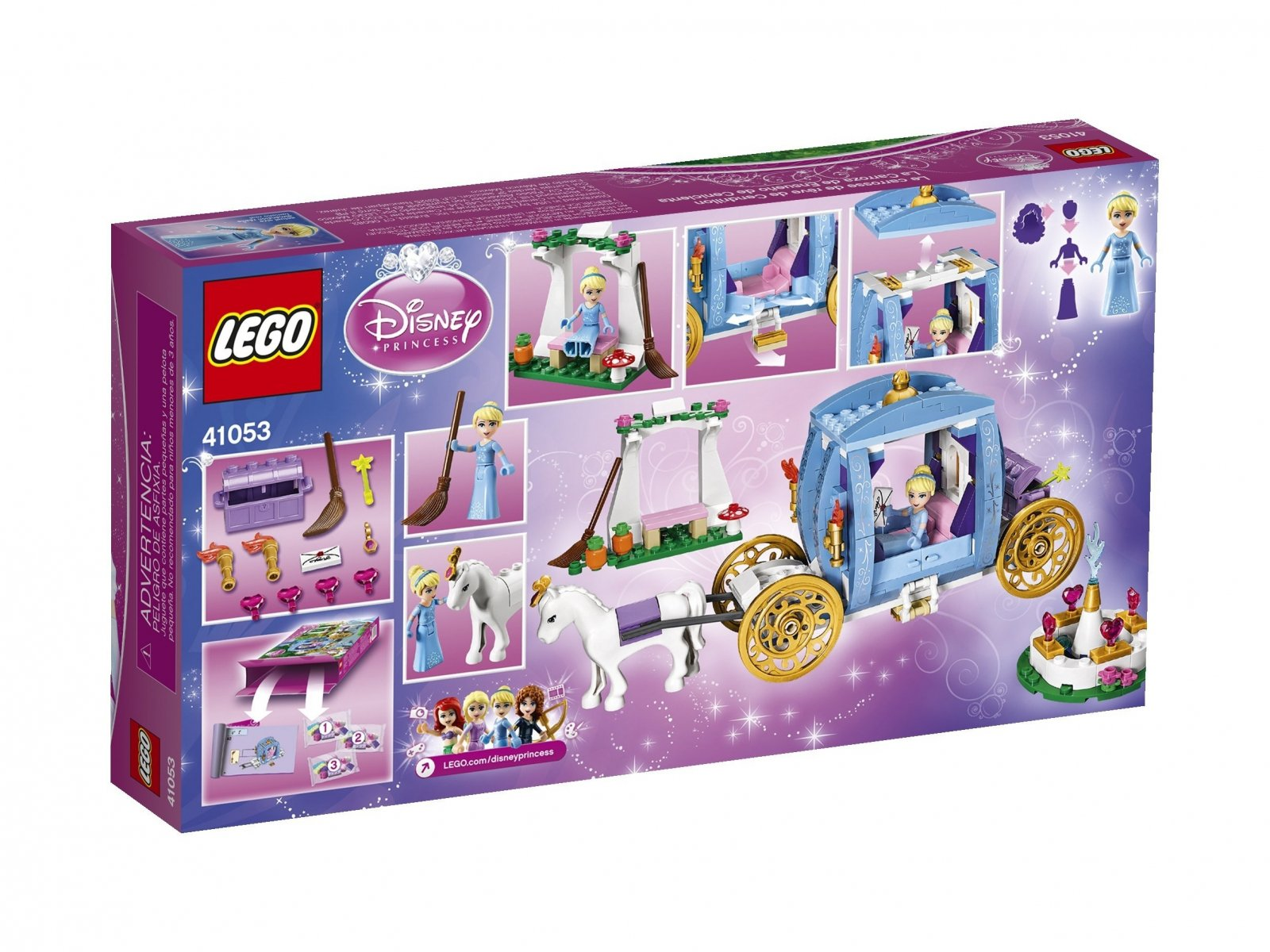 LEGO Disney™ Kareta Kopciuszka 41053