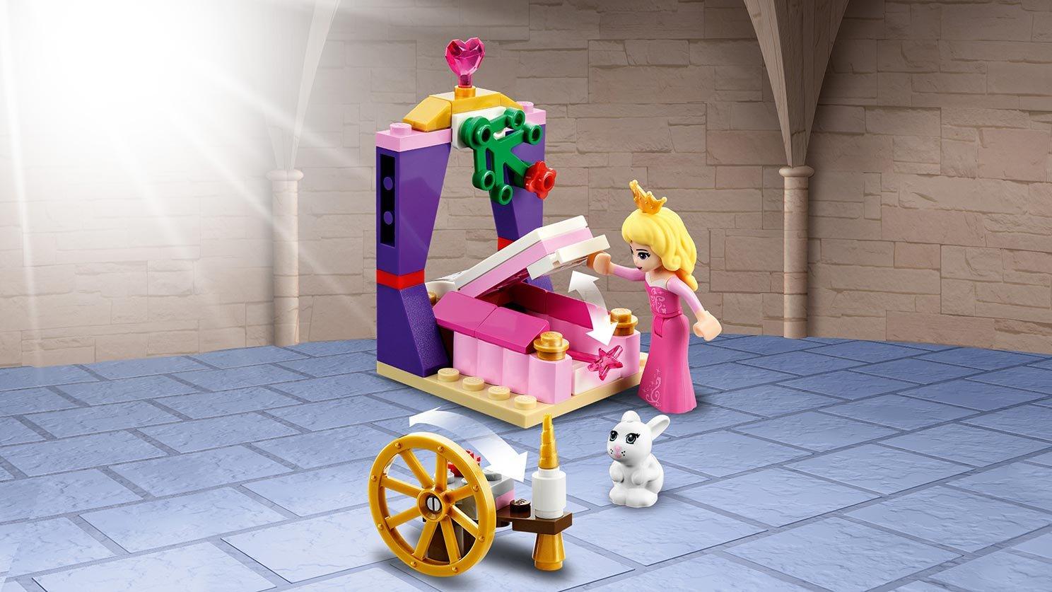 LEGO 41060 Disney Sypialnia w pałacu Śpiącej Królewny