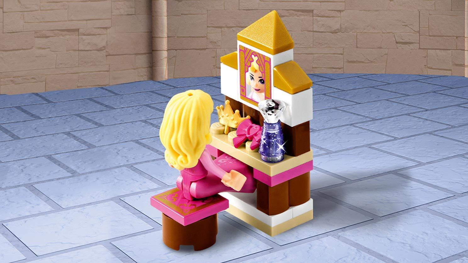 LEGO 41060 Sypialnia w pałacu Śpiącej Królewny