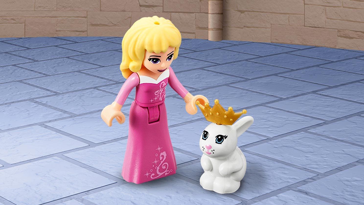 LEGO Disney Sypialnia w pałacu Śpiącej Królewny 41060