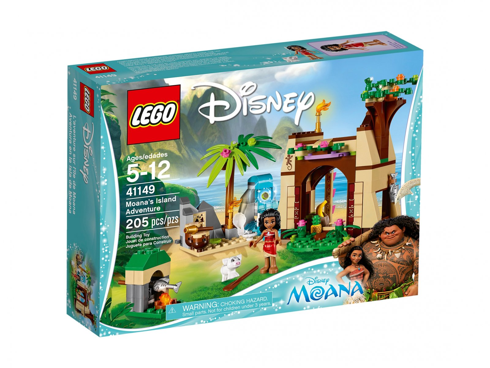 LEGO Disney™ Przygoda Vaiany na wyspie 41149