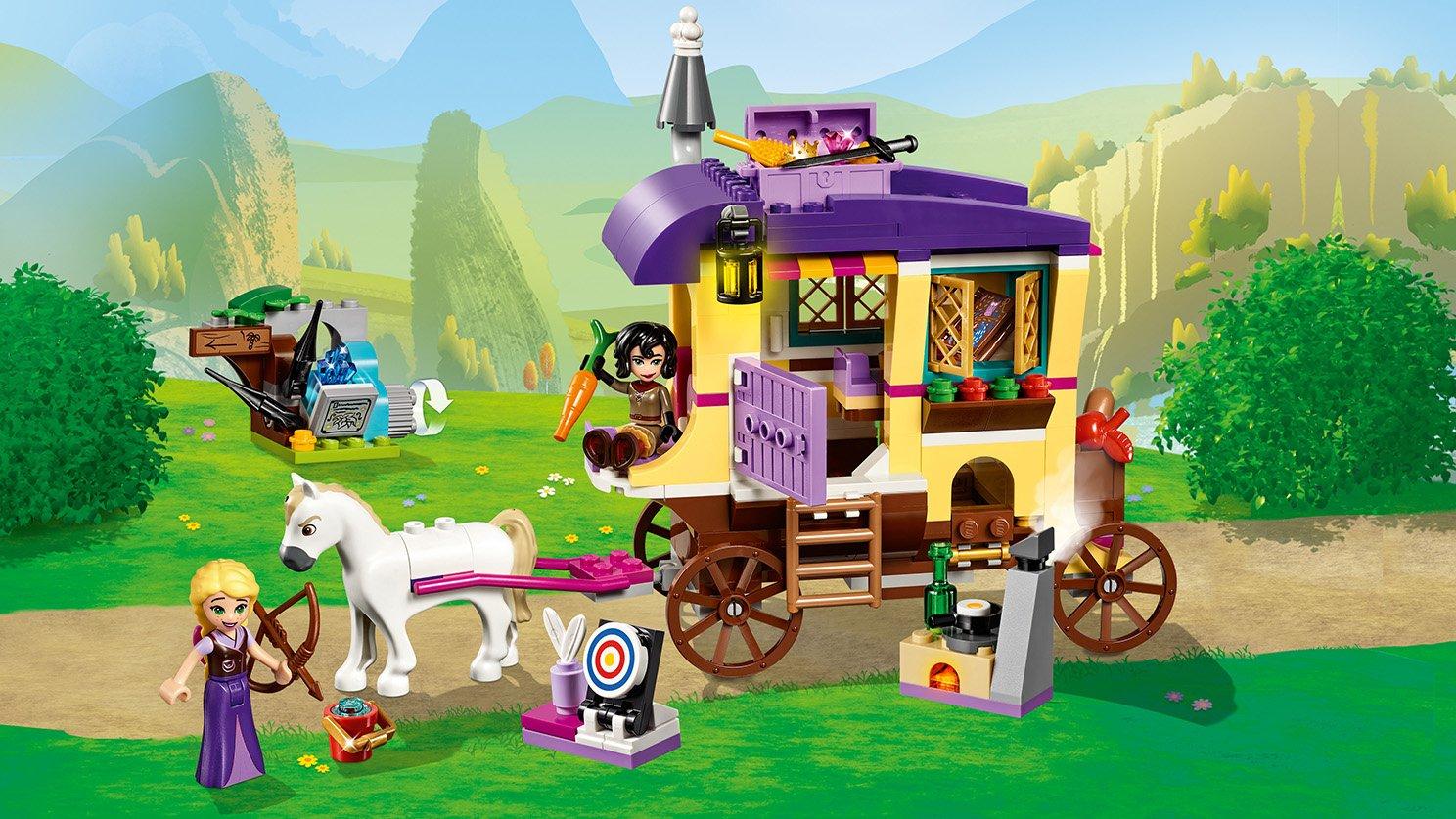 LEGO Disney™ Karawana podróżna Roszpunki