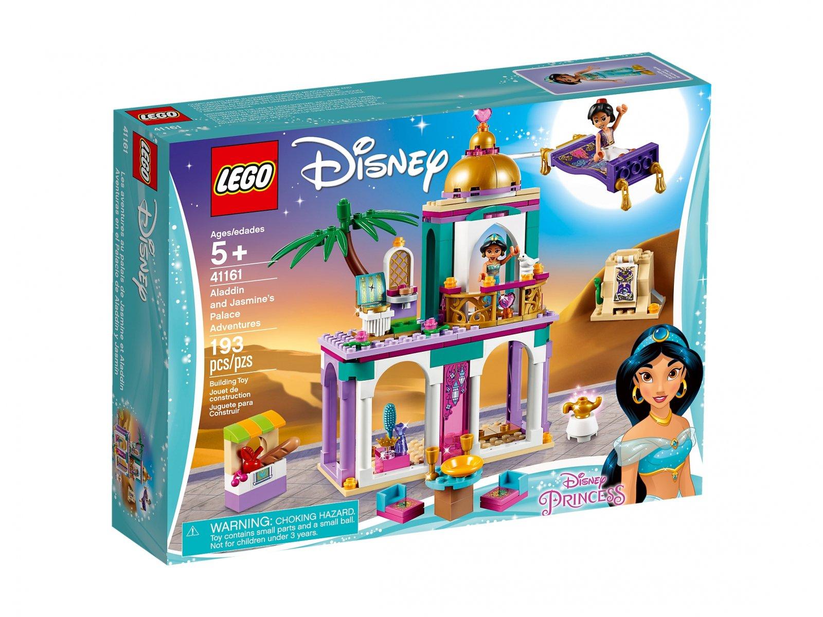 LEGO 41161 Pałacowe przygody Aladyna i Dżasminy