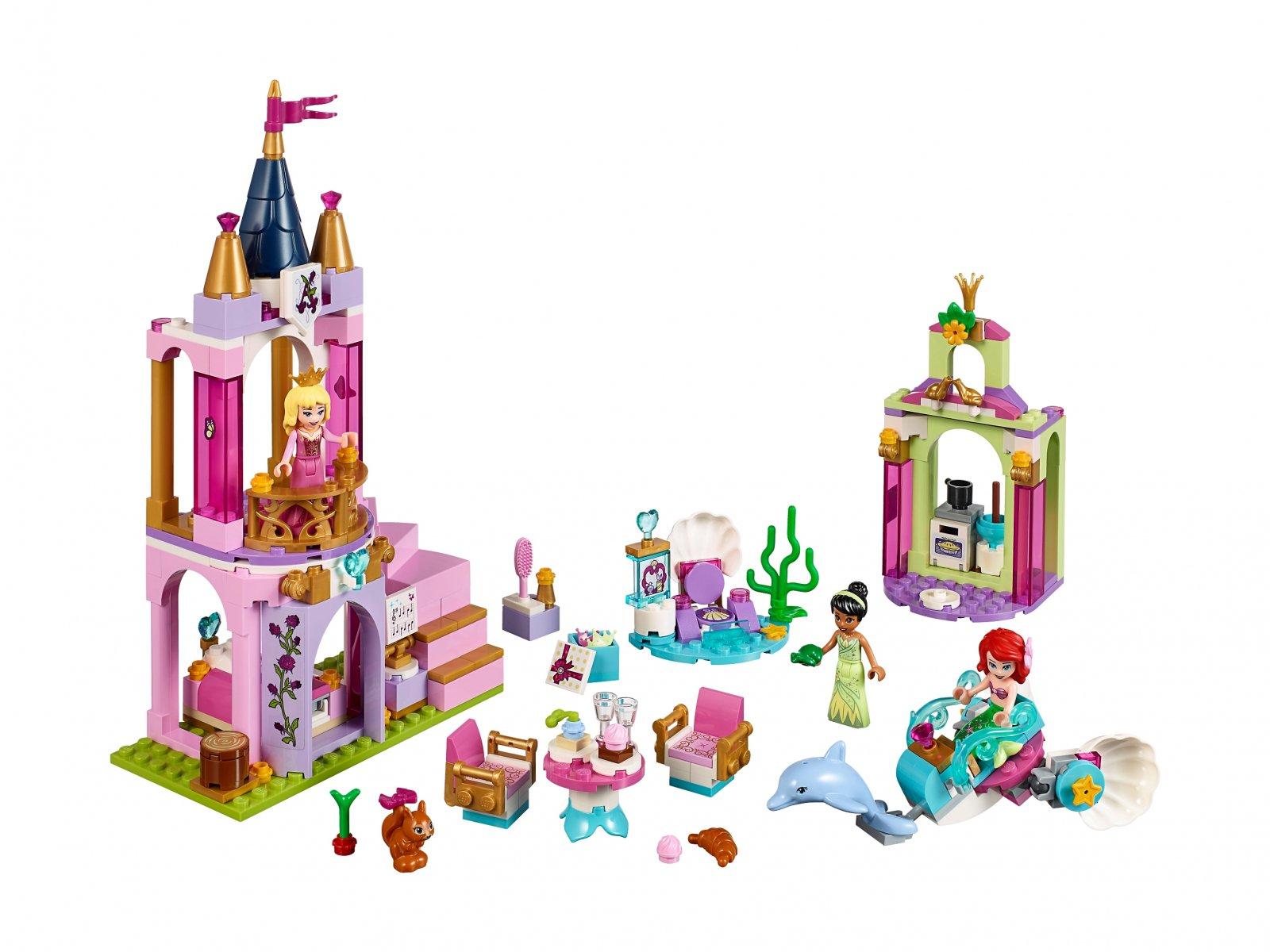 LEGO 41162 Disney™ Królewskie przyjęcie Arielki, Aurory i Tiany