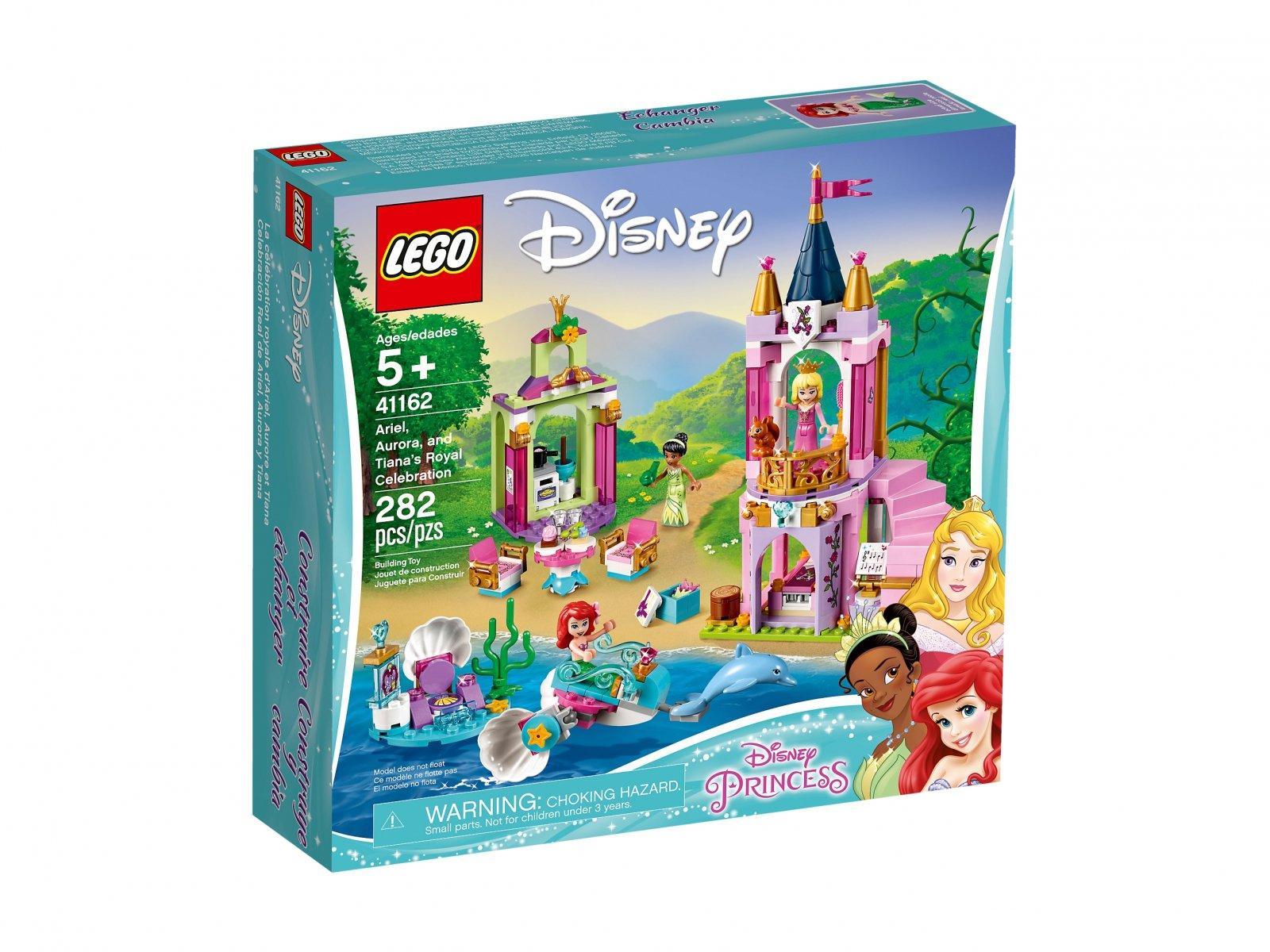 LEGO Disney™ Królewskie przyjęcie Arielki, Aurory i Tiany 41162