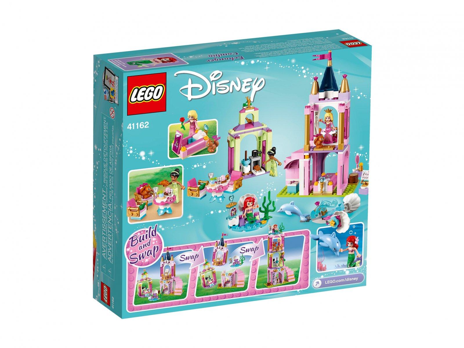 LEGO Disney™ 41162 Królewskie przyjęcie Arielki, Aurory i Tiany