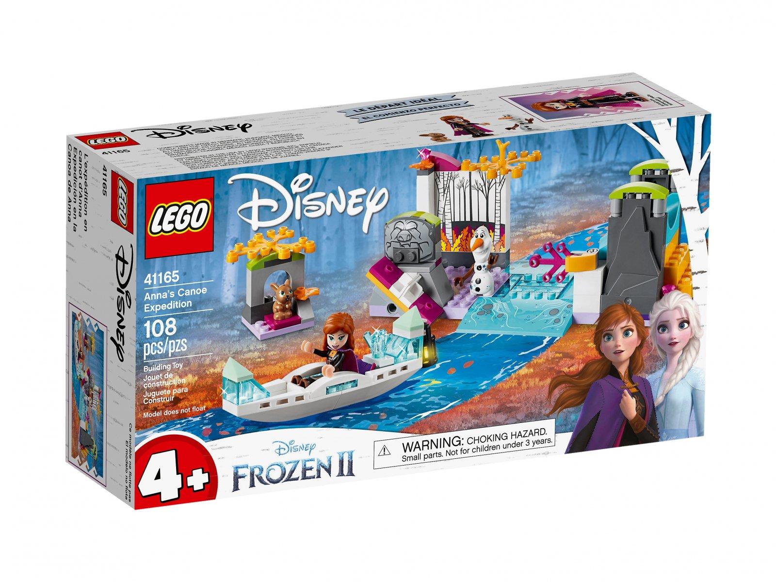 LEGO 41165 Disney™ Spływ kajakowy Anny