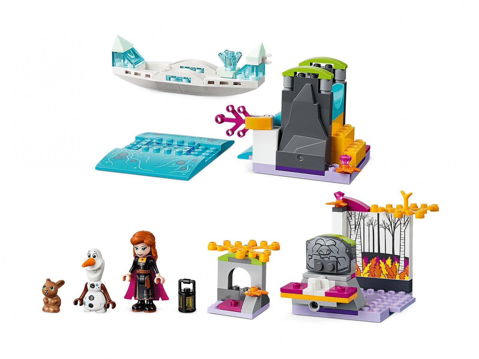 LEGO Disney™ Spływ kajakowy Anny 41165