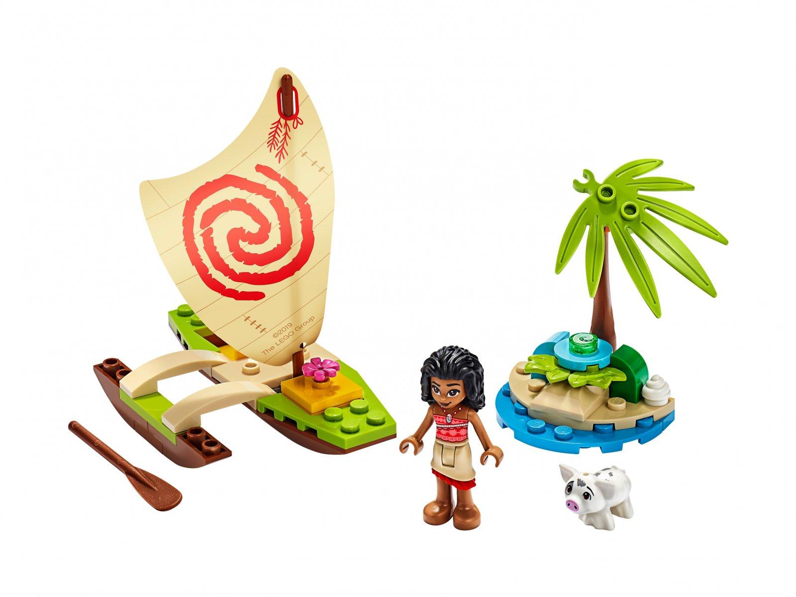 LEGO 43170 Disney™ Oceaniczna przygoda Vaiany
