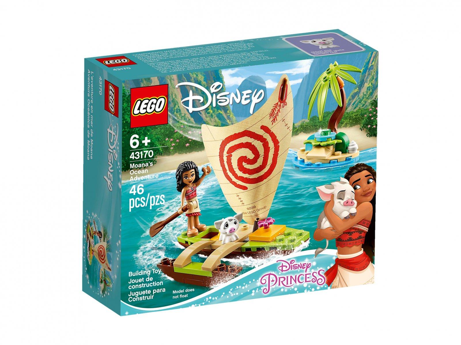 LEGO Disney™ 43170 Oceaniczna przygoda Vaiany