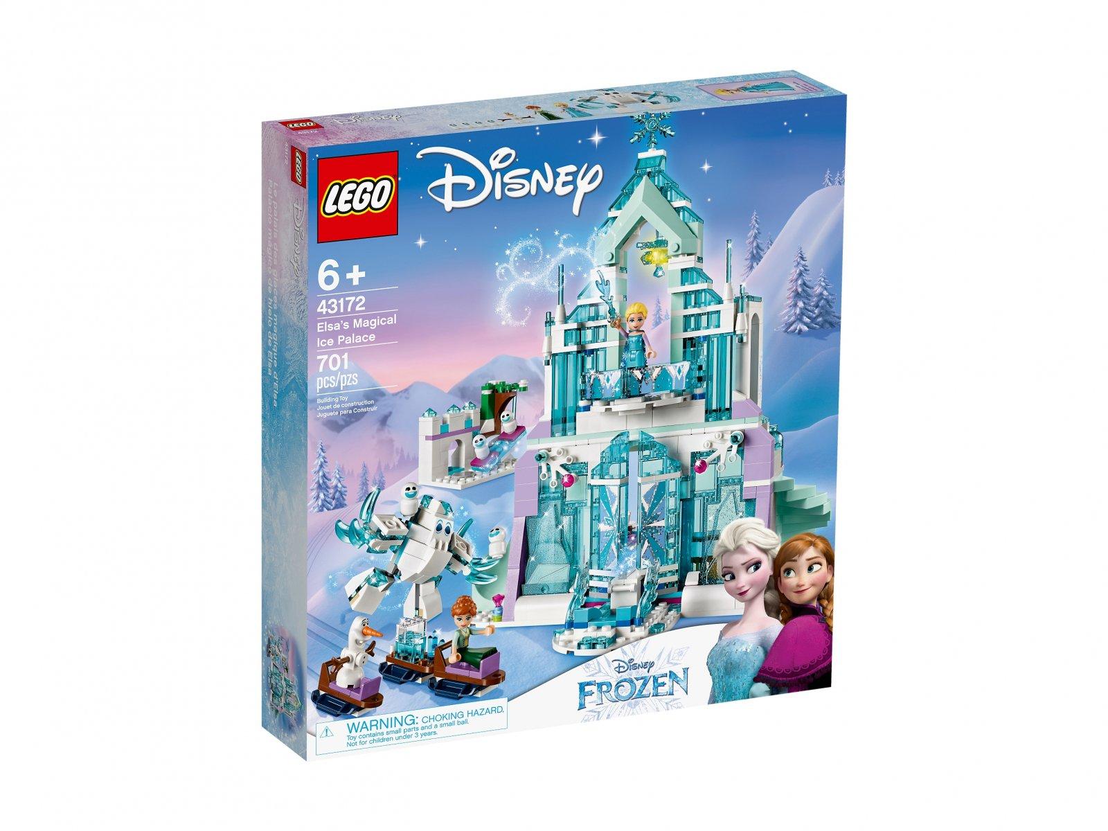 LEGO Disney™ Magiczny lodowy pałac Elsy 43172