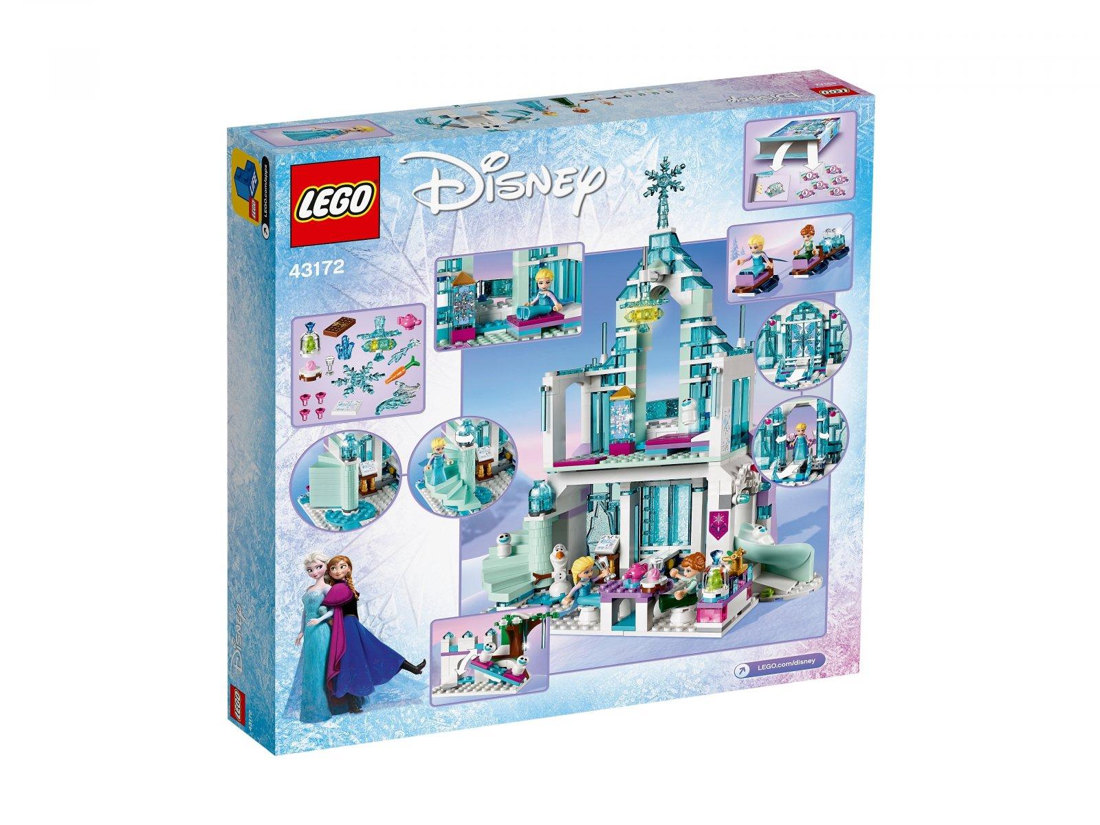 LEGO 43172 Disney™ Magiczny lodowy pałac Elsy