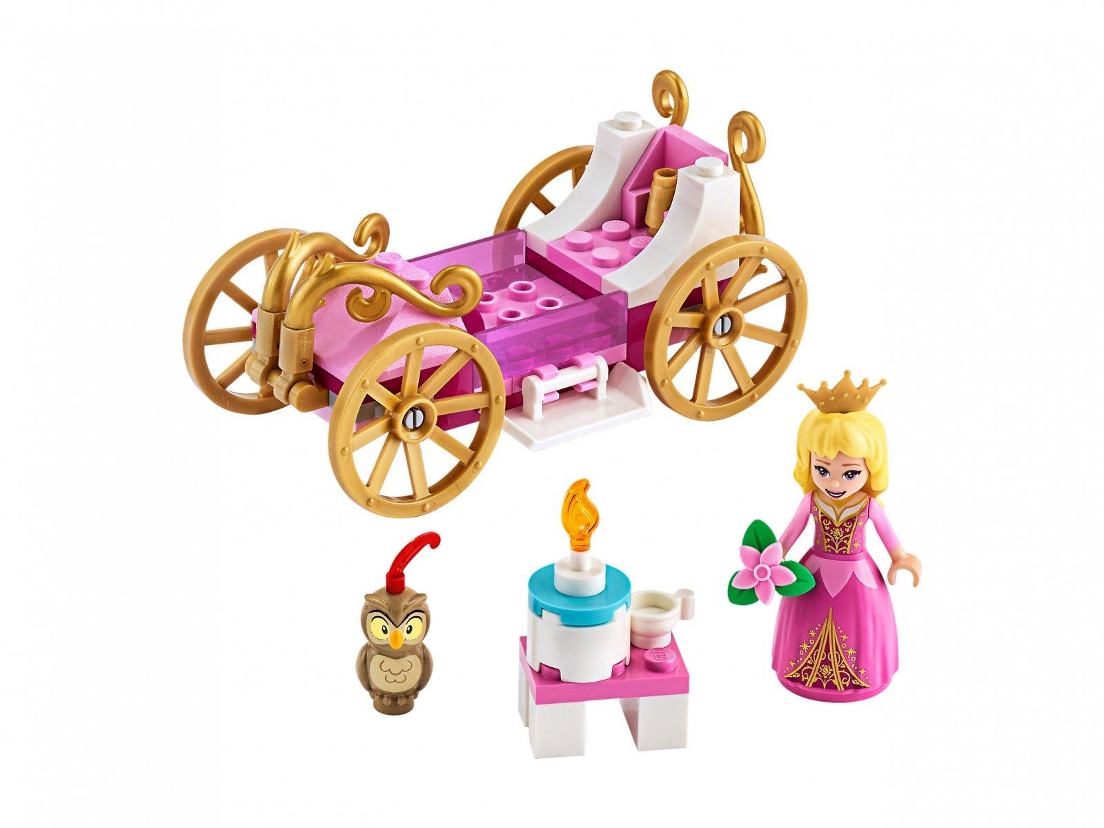 LEGO Disney™ 43173 Królewska karoca Aurory