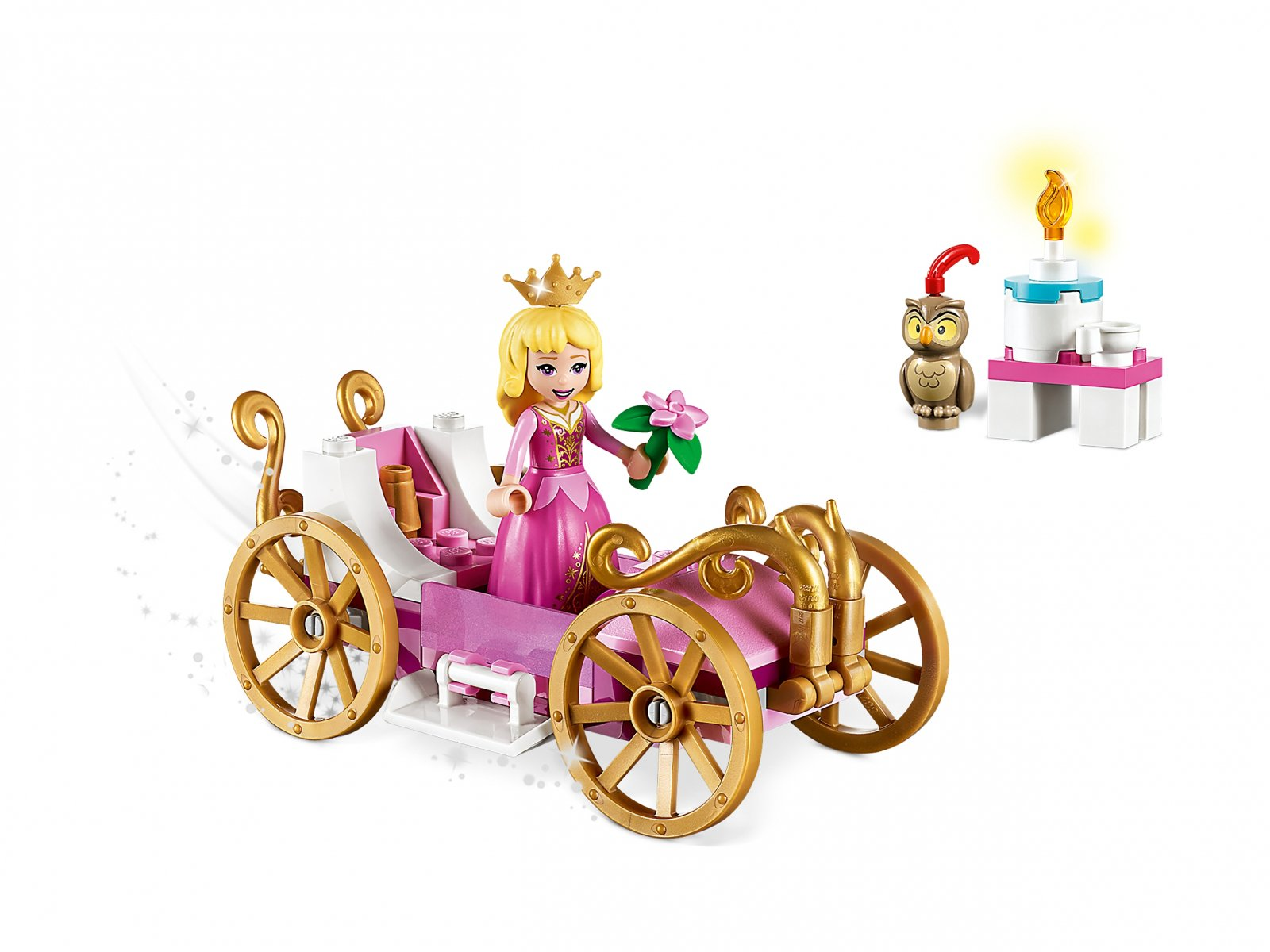 LEGO 43173 Disney™ Królewska karoca Aurory
