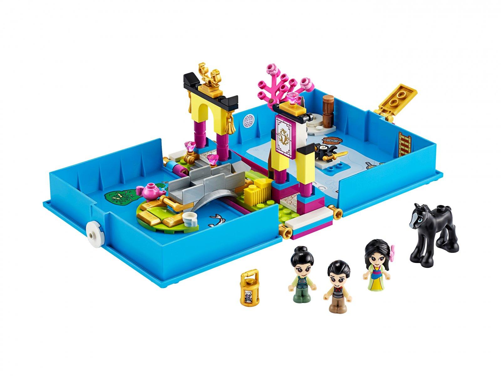 LEGO 43174 Disney™ Książka z przygodami Mulan