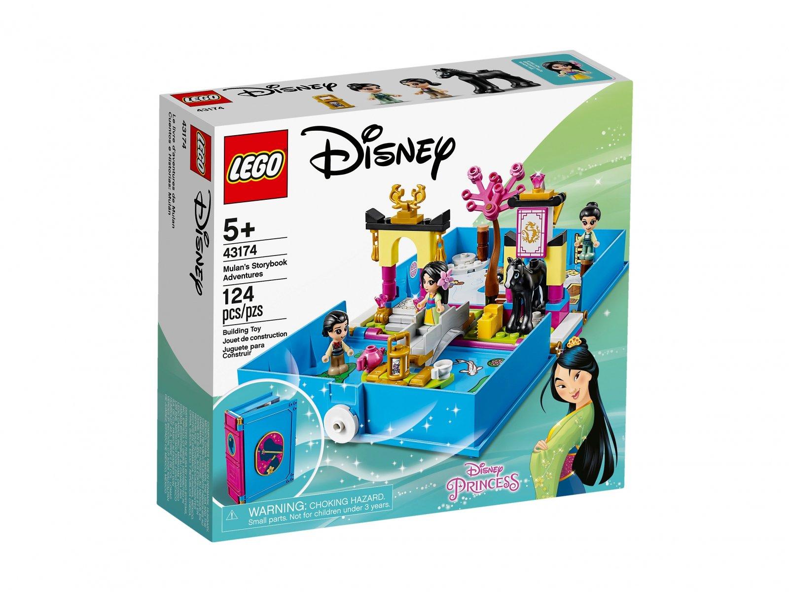 LEGO Disney™ Książka z przygodami Mulan 43174