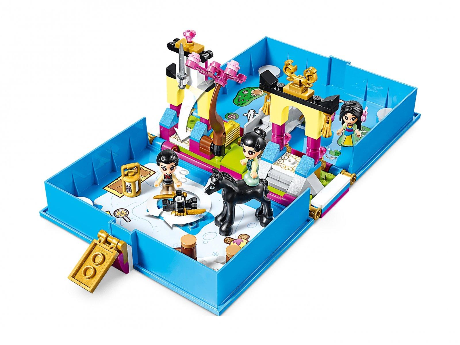 LEGO Disney™ 43174 Książka z przygodami Mulan