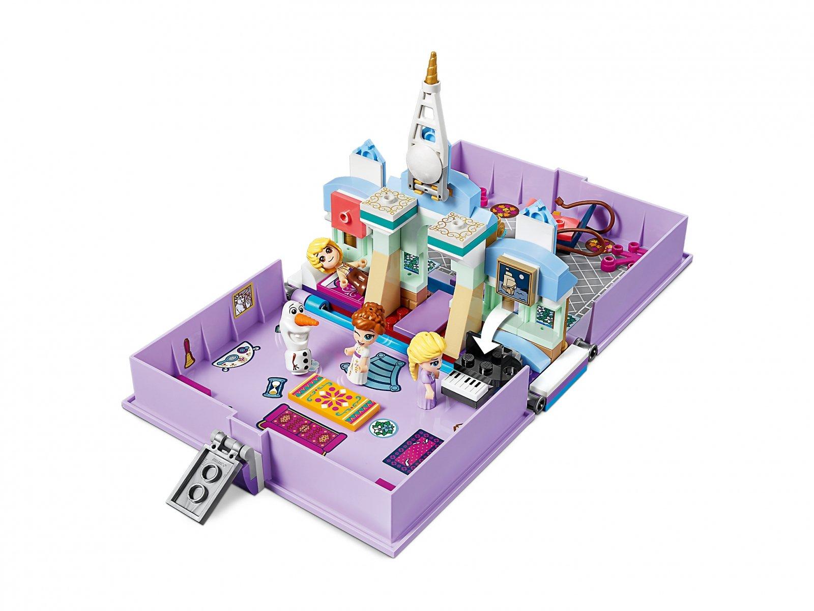 LEGO 43175 Disney™ Książka z przygodami Anny i Elsy