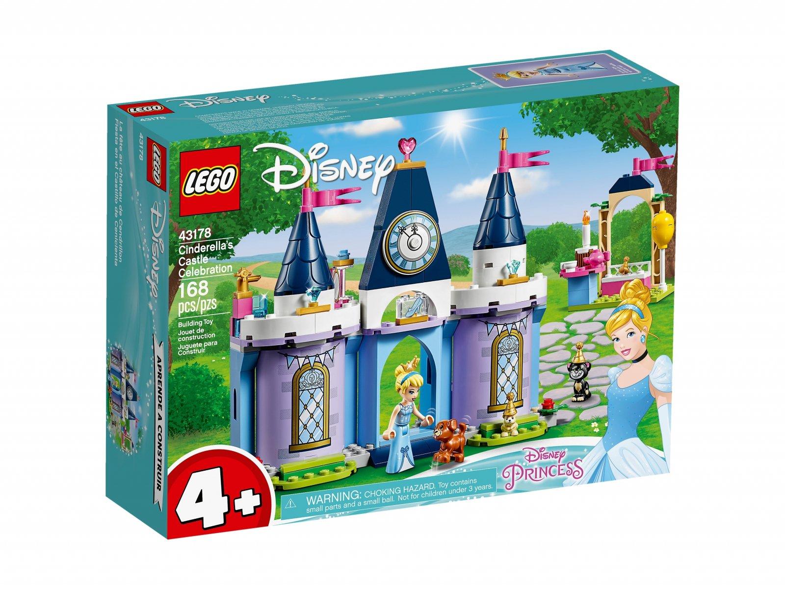 LEGO Disney™ Przyjęcie w zamku Kopciuszka 43178