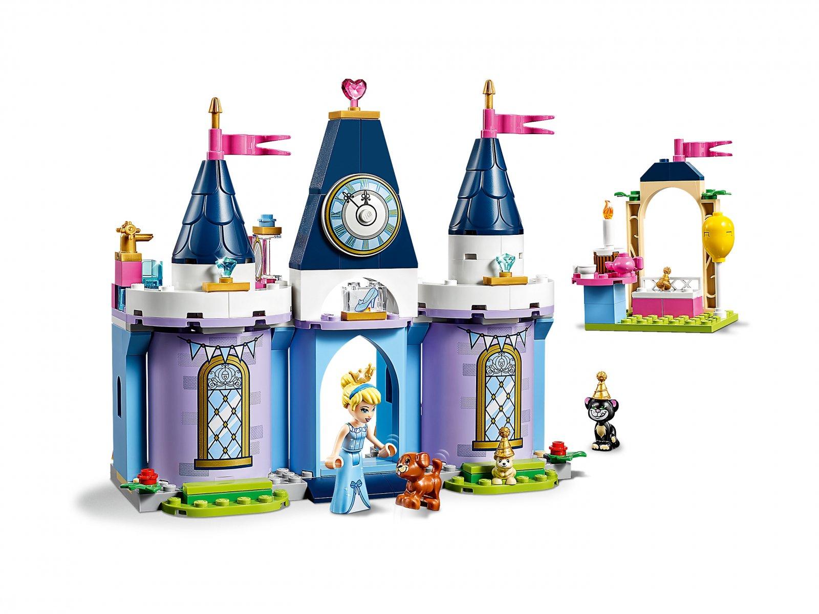 LEGO 43178 Disney™ Przyjęcie w zamku Kopciuszka