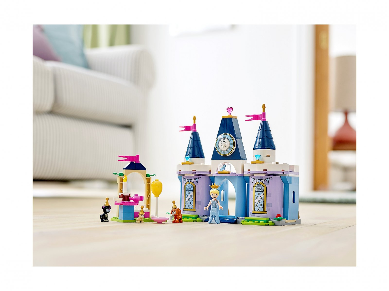 LEGO 43178 Przyjęcie w zamku Kopciuszka
