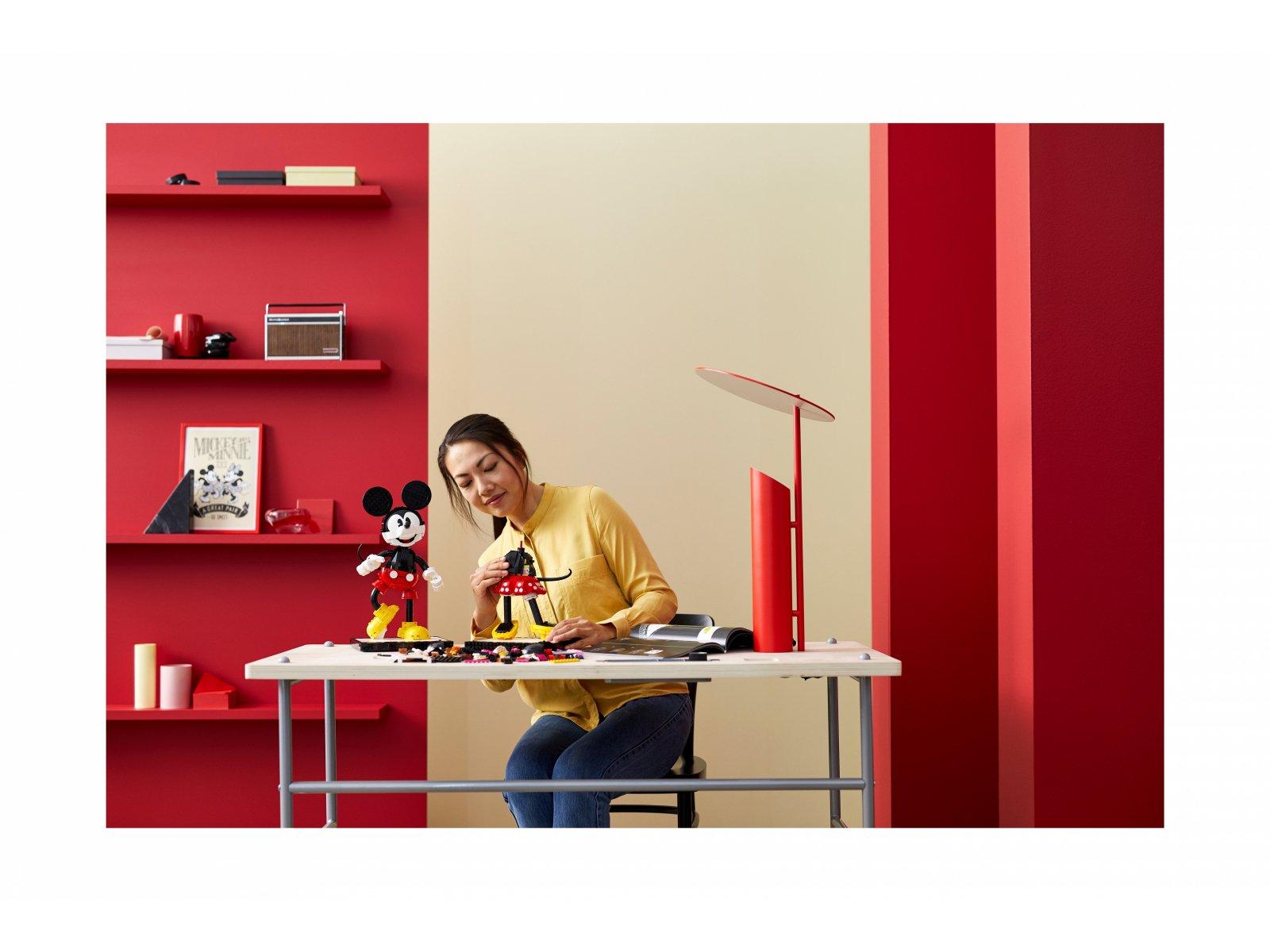 LEGO 43179 Disney™ Myszka Miki i Myszka Minnie do zbudowania