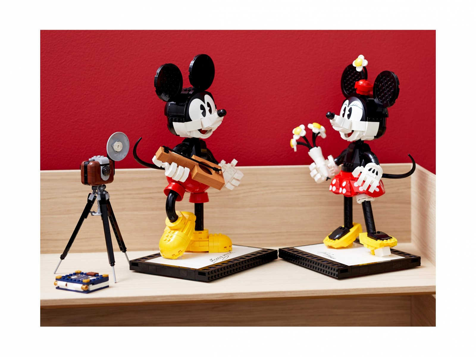LEGO 43179 Myszka Miki i Myszka Minnie do zbudowania